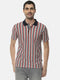 Men Striped Stylish Half Sleeve Casual T-Shirt