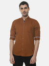 Men Stylish Solid Full Sleeve Casual Shirts