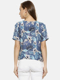 Women Floral Design Casual Top