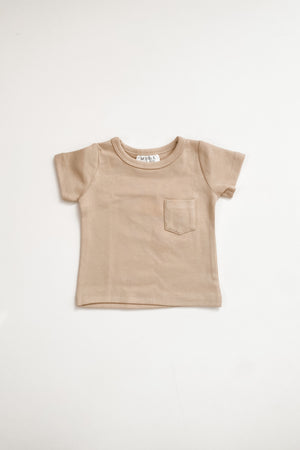 Load image into Gallery viewer, Oat Cotton Pocket Tee