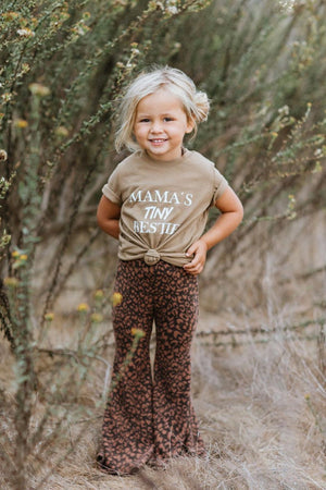 Load image into Gallery viewer, Mama's Tiny Bestie Tee Camel