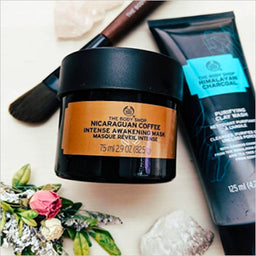 Nicaraguan Coffee & Himalayan Masks - The Body Shop