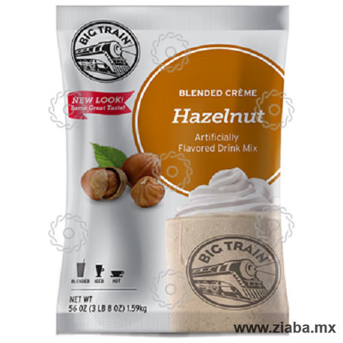 Avellana (Hazelnut) Blended Crème - Big Train - Ziaba Gourmet