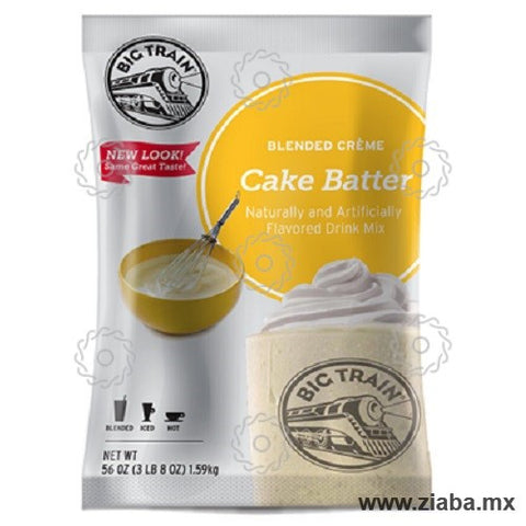 Pastel (Cake Batter) Blended Crème - Big Train - Ziaba Gourmet