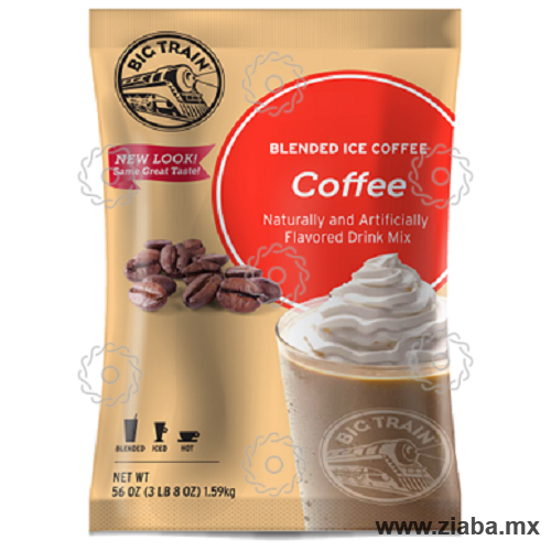 Café (Coffee) Blended Ice coffee - Big Train - Ziaba Gourmet