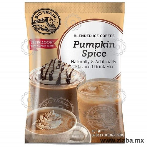 Pumpkin Spice (Calabaza) Latte Blended Ice Coffee - Big Train