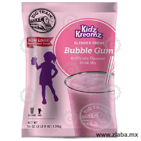 Chicle (Bubble Gum) Kidz Cream - Big Train - Ziaba Gourmet