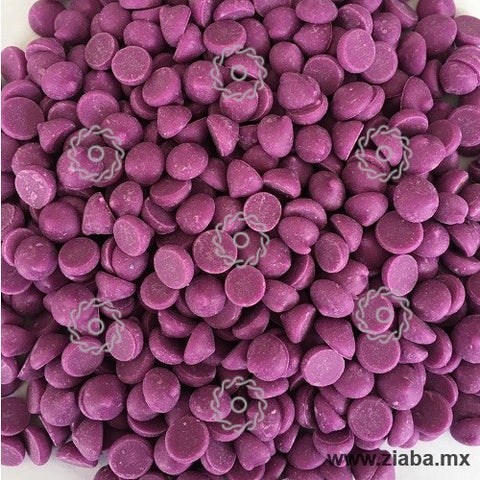Chispas de Chocolate color Morado