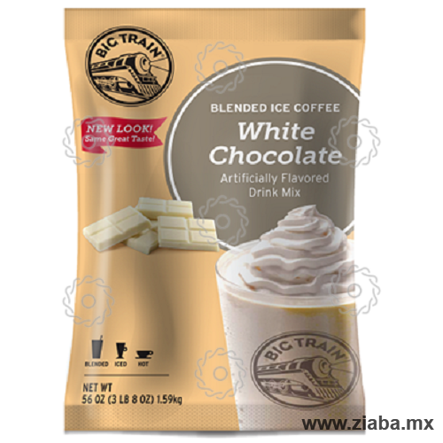 Chocolate Blanco Blended Ice Coffee - Big Train - Ziaba Gourmet