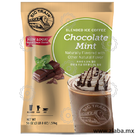 Chocolate Menta Blended Ice Coffee - Big Train - Ziaba Gourmet