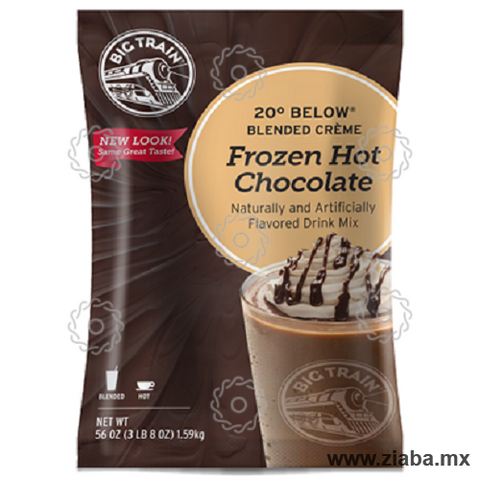 Chocolate (Frozen Hot) 20° Below - Big Train - Ziaba Gourmet