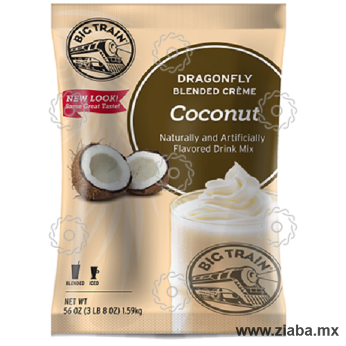 Coco Dragonfly Blended Crème - Big Train - Ziaba Gourmet