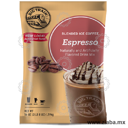 Espresso Blended Ice Coffee - Big Train - Ziaba Gourmet