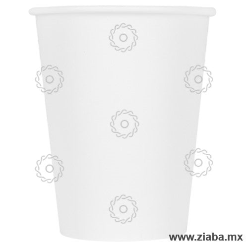 Vaso Biodegradable de Papel para Bebidas Calientes, Blanco, varios tamaños - Karat Earth
