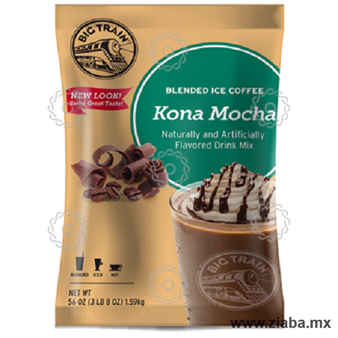 Kona Mocha Blended Ice Coffee - Big Train