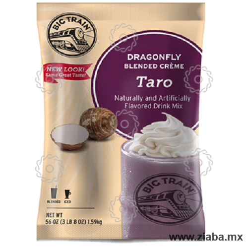 Taro Dragonfly Blended Crème Frappé  - Big Train - Ziaba Gourmet