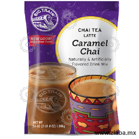 Té Chai Caramelo Latte - Big Train - Ziaba Gourmet