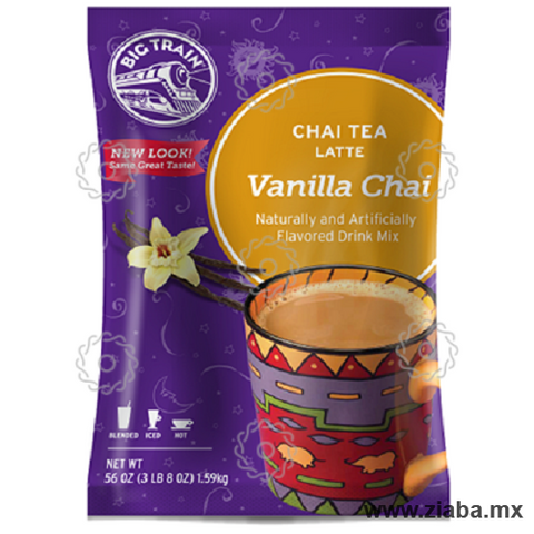 Té Chai Vainilla Latte - Big Train - Ziaba Gourmet