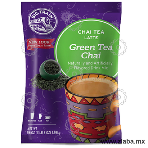 Té Chai Verde Latte - Big Train - Ziaba Gourmet - 1