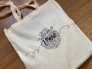 "Personalized ""Sakatou"" tote bag"