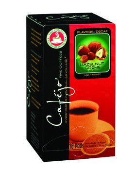 Decaf Hazelnut Single Cup Coffee Pods (As low as $0.27 Per Cup)