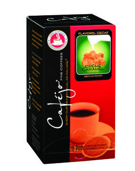 Decaf Caramel Creme Single Cup Coffee Pods (As low as $0.27 Per Cup)