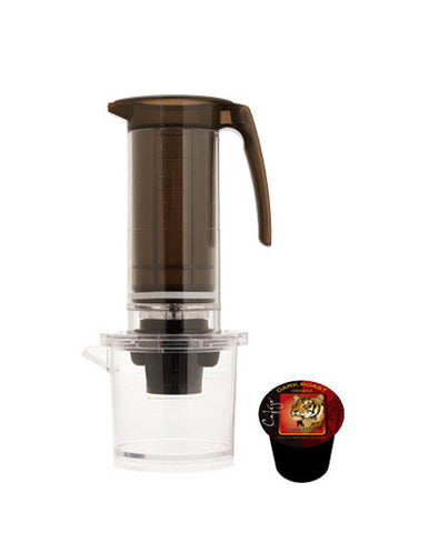 My French Press® Single Serve Cup Brewer (With Blister Pack Retail Packaging) - Single Serve Cup Adaptor Only (Case of 4 - $22 Each)