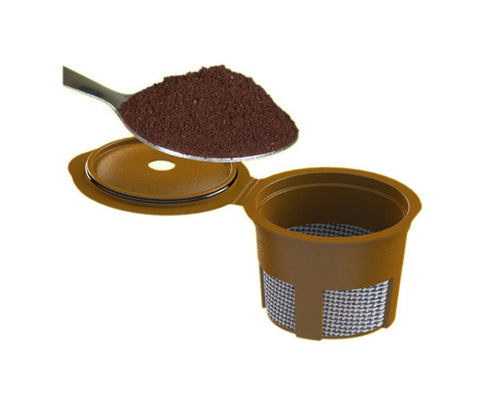 Single Cup Ground Coffee Adaptor - For use with My French Press or Single Serve Cup Brewers (Case of 12 - $6.50 Each)