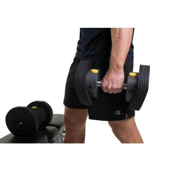 MX Select Adjustable Dumbbells MX55 with Stand - Prime Fair
