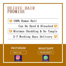 Load image into Gallery viewer, Human hair body wave hair extensions