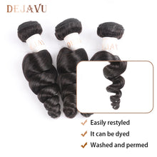 Load image into Gallery viewer, Xclusive Beauty Loose Wave Virgin Human Hair extension bundle weave