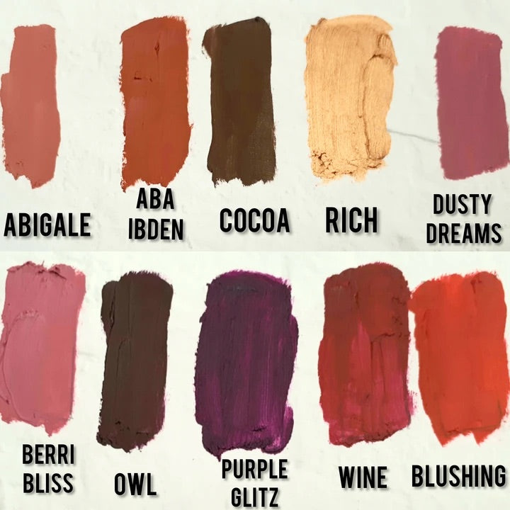 Bold and Luscious Lipstick Colors