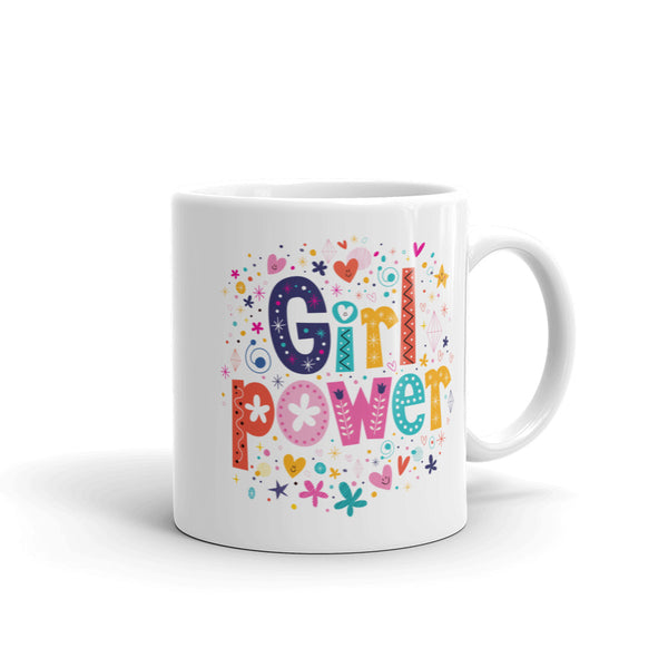 Girl Power 'SMILES' Ceramic Tea & Coffee Mug