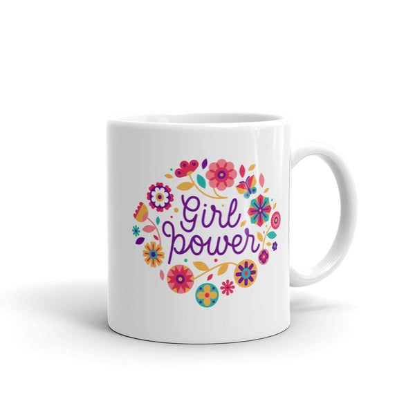 Girl Power 'SIXTIES' Ceramic Tea & Coffee Mug