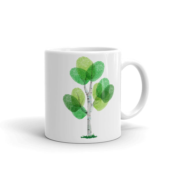 'GREEN FINGERS' Ceramic Tea & Coffee Mug