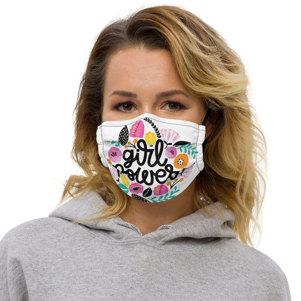 'GIRL POWER' Premium face mask