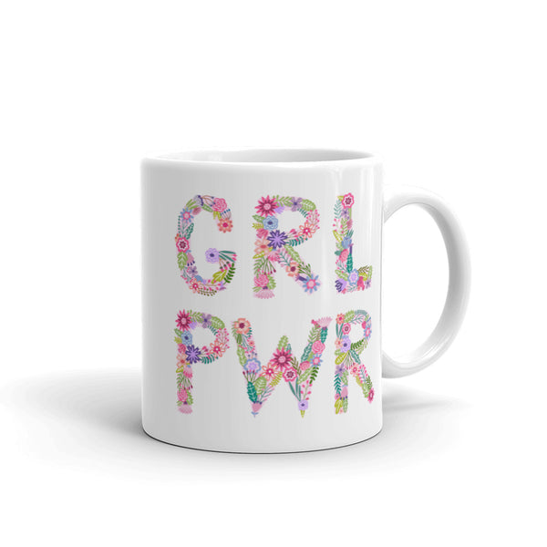 'GRL PWR' Ceramic Tea & Coffee Mug