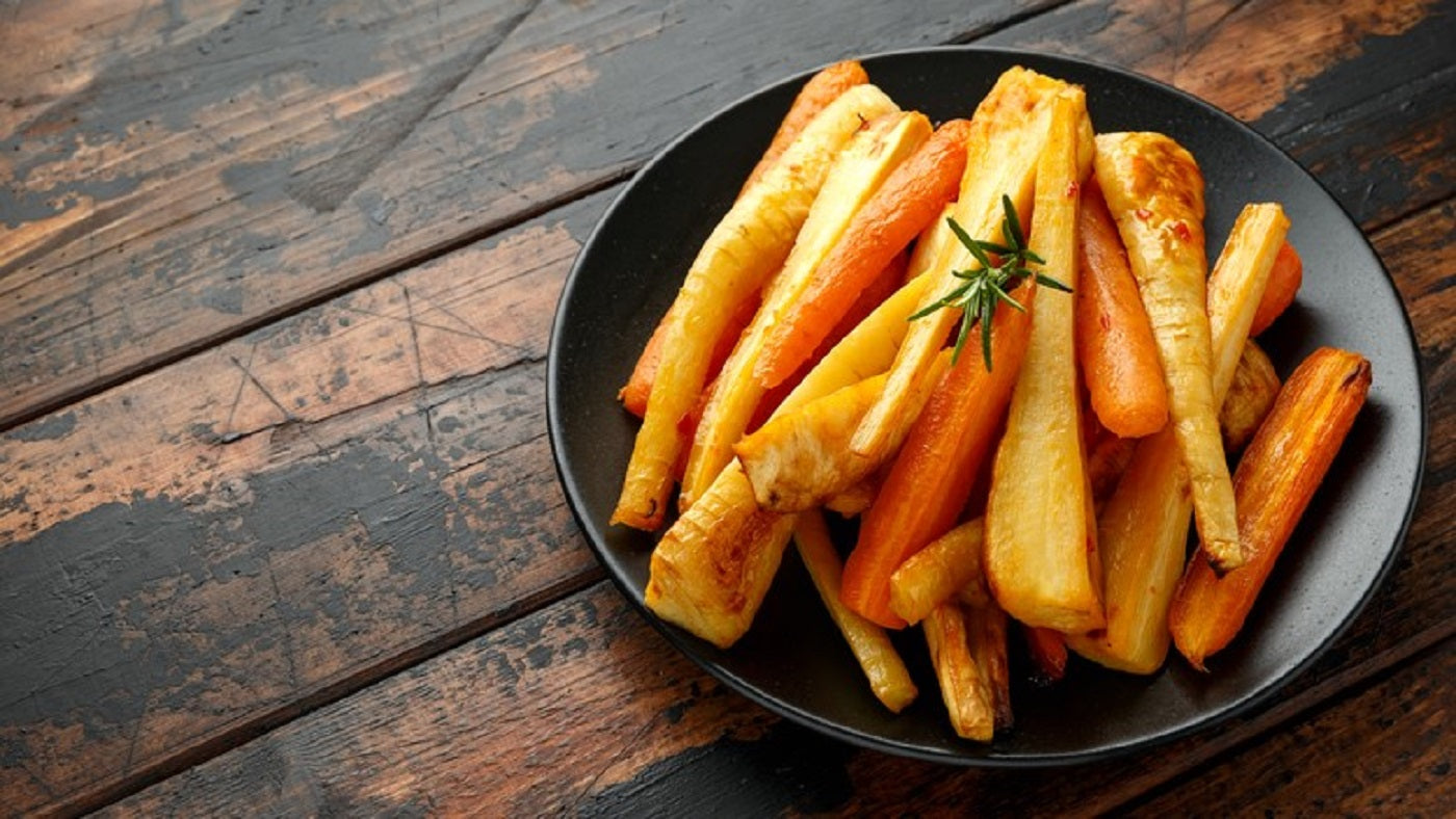Honey Roasted Parsnips and Carrots Recipe
