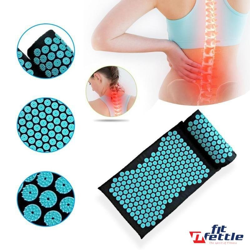 Acupressure Massage Yoga Mat - FitnFettle