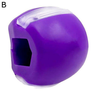Jaw Line Exercise Ball - FitnFettle