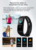 New Fit bit Sport Band Activity Watch Activity Fitness Tracker - FitnFettle