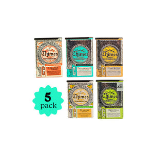 5-Pack 2oz Ginger Chews - Combo Pack