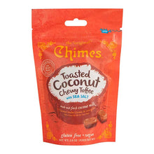 Load image into Gallery viewer, Chimes Chewy Toffee | Toasted Coconut with Sea Salt | 4-Pack | 2.8oz