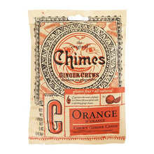Load image into Gallery viewer, Chimes Ginger Chews | Orange | 4-Pack | 5oz
