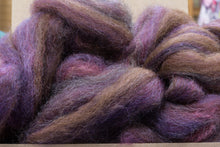 Load image into Gallery viewer, Roving 75% Mohair 25% Wool Blue Drama