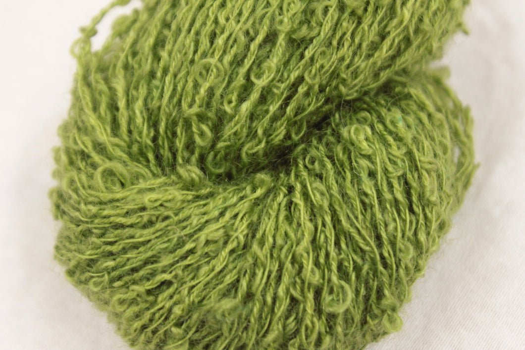 3 ply 75/25 110g Boucle Wellington Pear Green