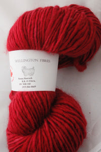 1 ply 20/80 135g Wellington Cranberry