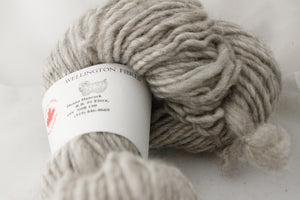 1 ply 20/80 135g Wellington Natural Grey