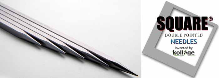 Kollage Square Double Pointed Needle 2.5mm/US 1 7