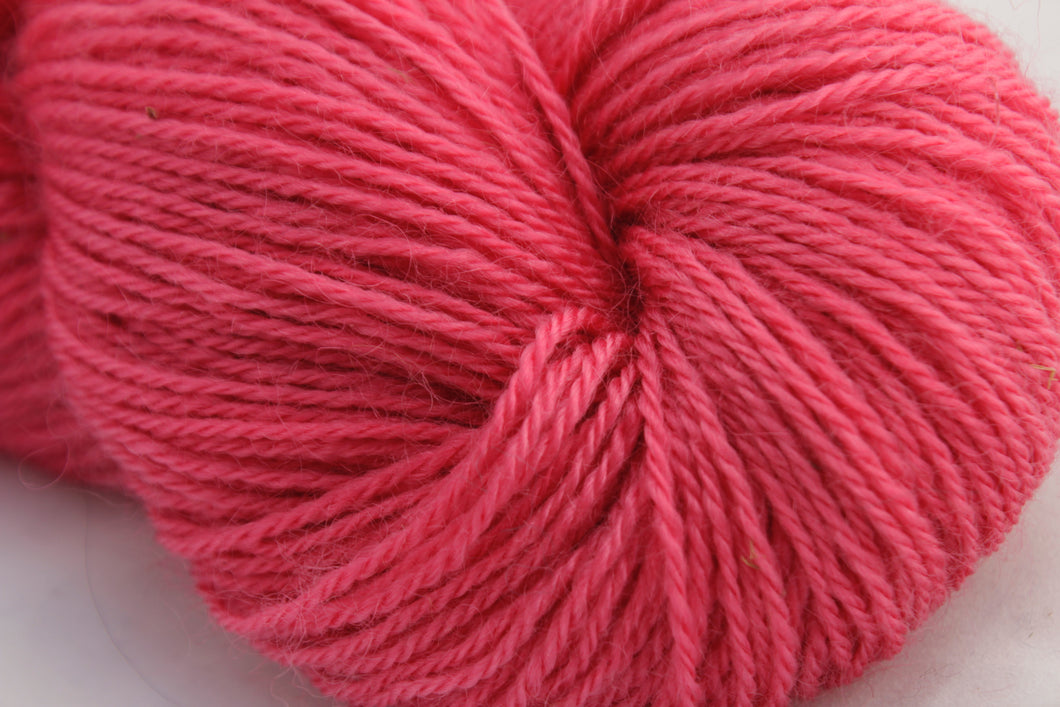 3 ply 75/25 115g Wellington Bubblegum Pink